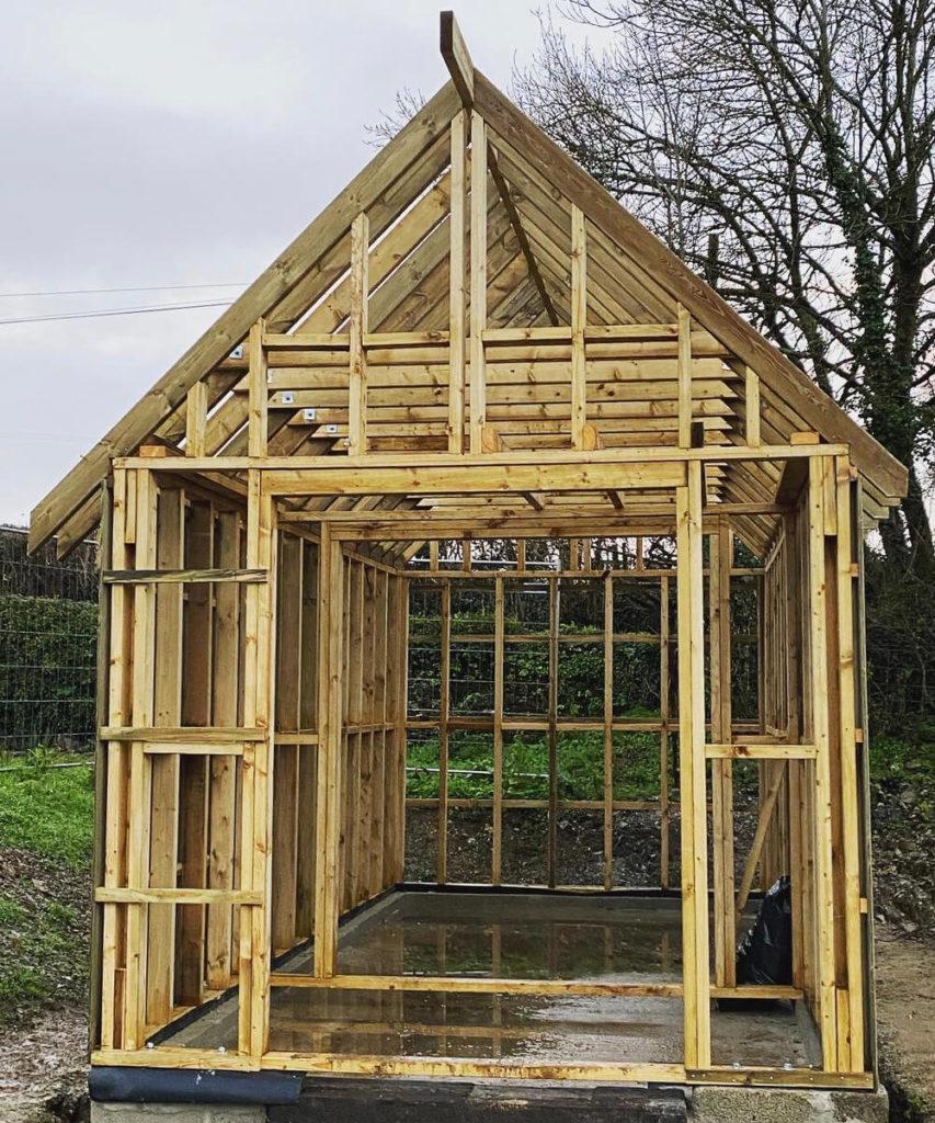 Timber Frame Garages