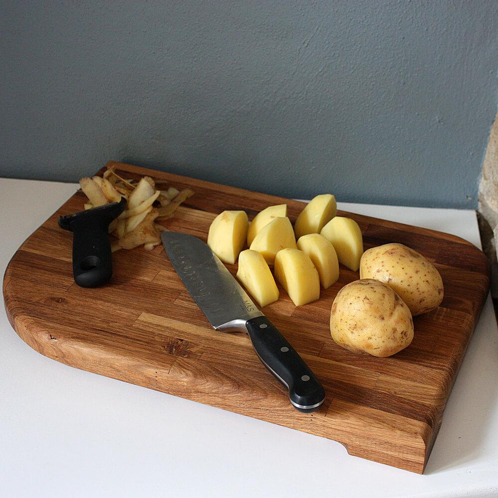 Oak Wooden Kitchen Chopping Cutting Board